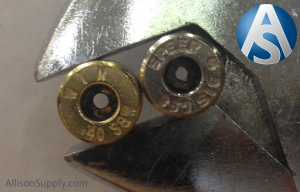 357 sig brass primer flash holes smaller than standard 40sw