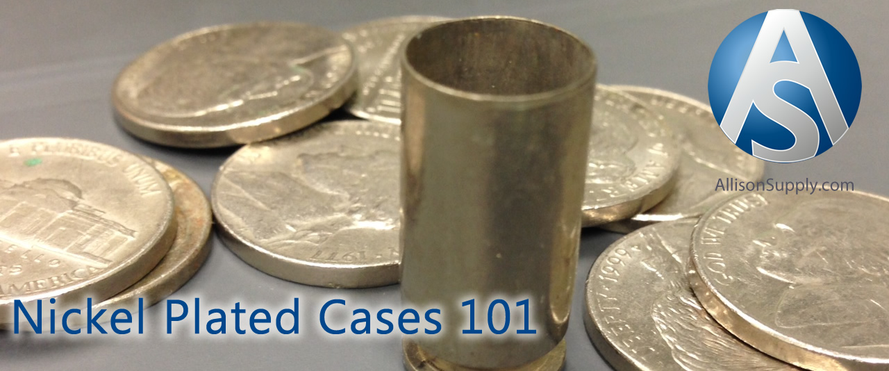 nickle plated brass cases for reloading